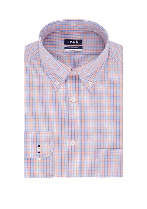 Big & Tall Tall Fit Plaid Dress Shirt