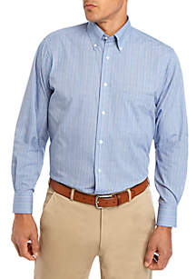IZOD Regular Stretch Check Dress Shirt