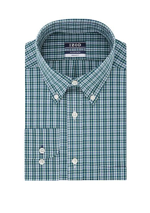 Regular Fit Check Print Dress Shirt