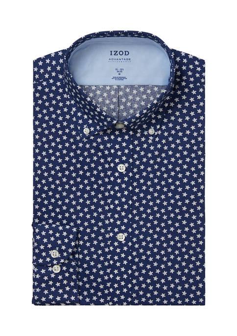 IZOD Big & Tall Cool FX Dress Shirt