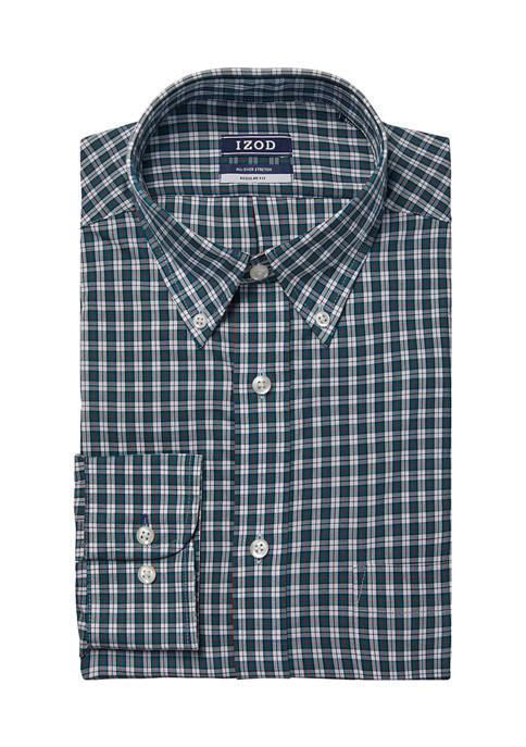 IZOD Regular Fit Wrinkle Free Dress Shirt