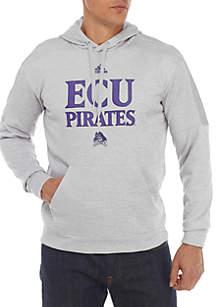 ECU Pirates Team Issue Sideline Fire Fleece Hoodie