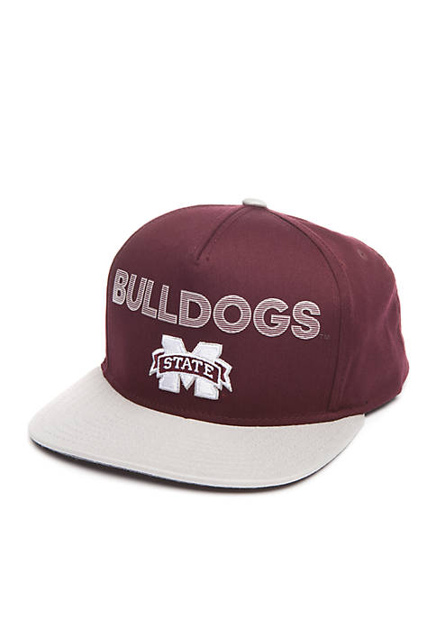 adidas Mississippi State Bulldogs Flat Brim Snapback Hat