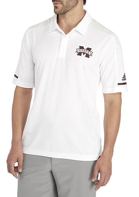 adidas Mississippi State Bulldogs Coaches Sideline Polo