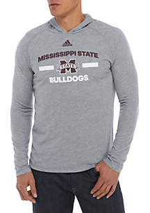 Mississippi State Bulldogs Sideline Speed Arch Hooded Tee