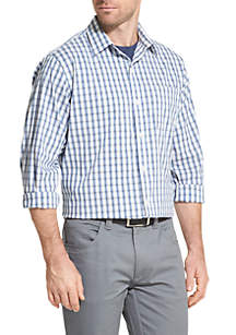 Traveler Plaid Non Iron Classic Fit Shirt