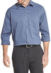Traveler Plaid Non Iron Long Sleeve Shirt