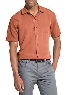 Van Heusen Air Soft Non-Iron Short Sleeve Shirt