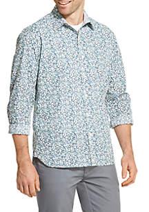 Van Heusen Never Tuck Printed Slim Fit Shirt