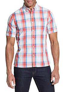Van Heusen Never Tuck Slim Fit Shirt