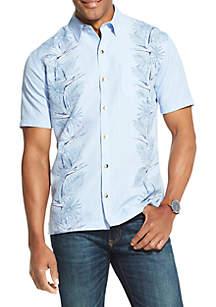 Van Heusen Air Printed Non Iron Short Sleeve Shirt