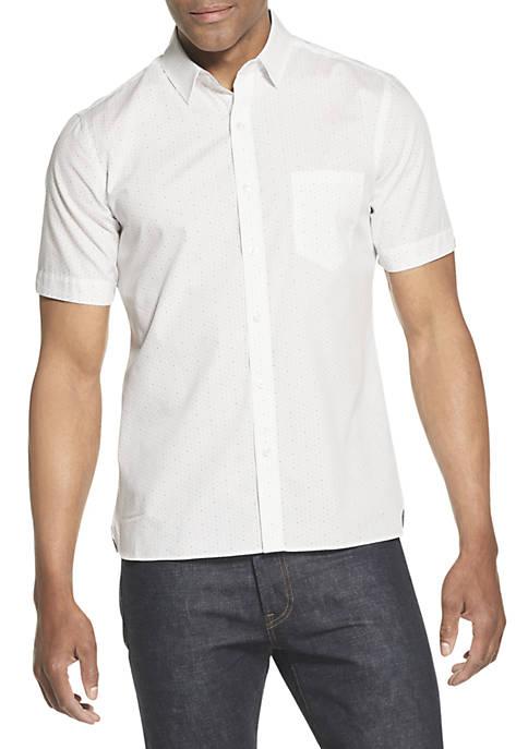 Never Tuck Slim Fit Short Sleeve Shirt