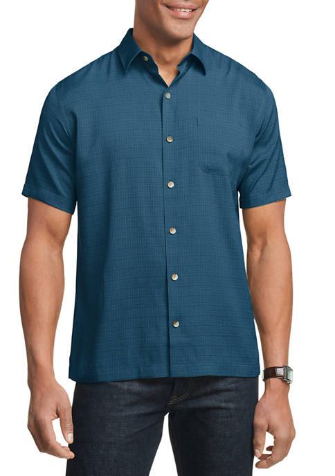 Mens Air Camps Classic Fit Short Sleeve Shirt