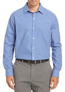Non-Iron Medium Check Traveler Stretch Shirt
