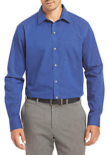 f22d20375914c ... Dress Shirt · Van Heusen Non-Iron Stripe Traveler Stretch Shirt