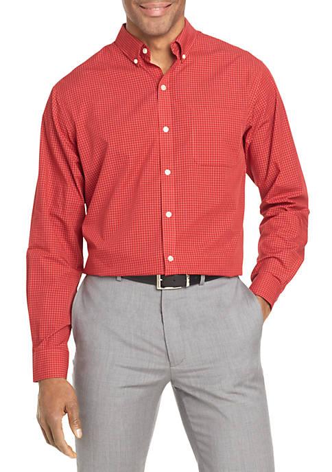 Van Heusen Long Sleeve Wrinkle Free Poplin Shirt
