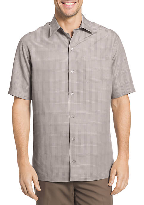 Short Sleeve Dobby Polo Shirt