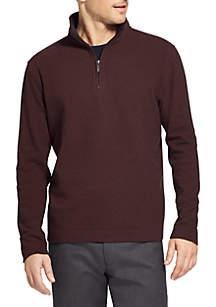 Flex Ottoman Quarter Zip Pullover