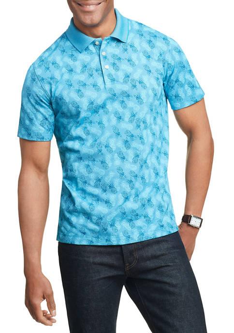 Mens Air Printed Polo Shirt