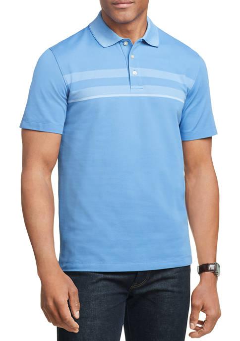 Mens Striped Polo Shirt