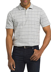 Van Heusen Windowpane Polo