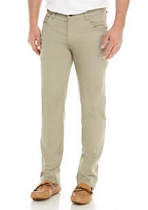 Flex Flat-Front Pants