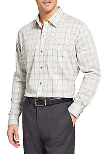 Big & Tall Traveler Performance Stretch Non-Iron Shirt