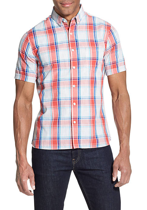 Big & Tall Never Tuck Slim Fit Shirt