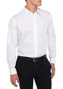 Long Sleeve Sateen Stripe Shirt