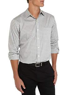 Big & Tall Long Sleeve Traveler Woven Shirt