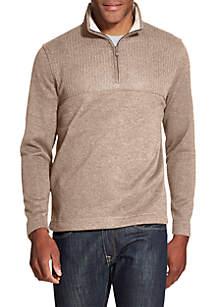 Big & Tall Flex 1/4 Zip Fleece Pullover