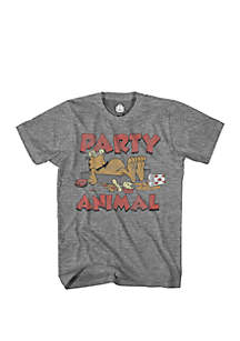 Mad Engine Garfield Party Animal Tee