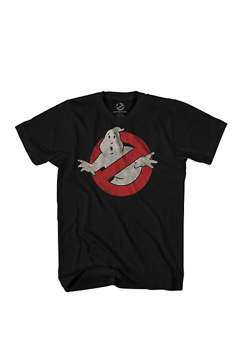 Mad Engine Ghostbusters Logo Graphic Tee