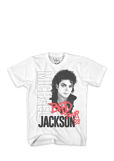 Mad Engine Short Sleeve Michael Jackson Bad Tour