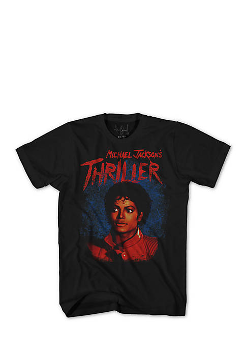 Mad Engine Short Sleeve Michael Jackson Thriller Graphic