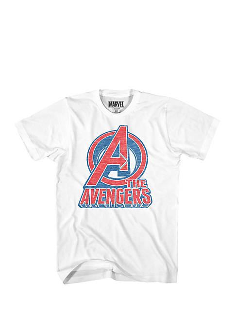 Mad Engine Avengers Logo Graphic Tee