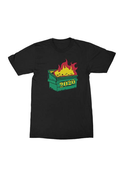 Dumpster Fire Graphic T-Shirt