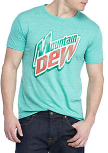 New World Sales Short Sleeve Mountain Dew Graphic Tee