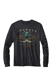 New World Sales Long Sleeve Journey 1980 T-Shirt