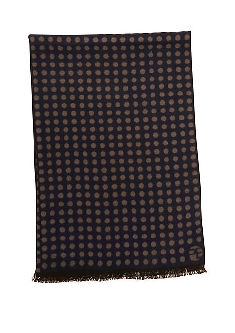 Perry Ellis® Reversible Dot Scarf