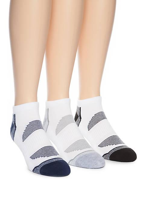 3 Pack Fashion Quarter Socks