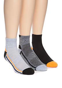 ZELOS 3 Pack Fashion No Show Socks