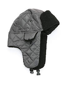 Quilted Bomber Hat