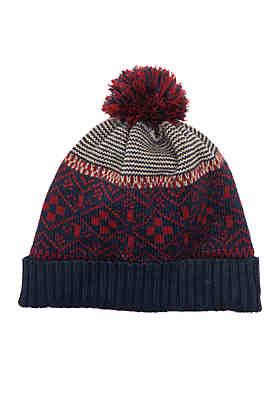 Saddlebred® Fairisle Hat ... f58db4e03df