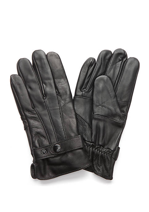 Leather Pieces Gloves