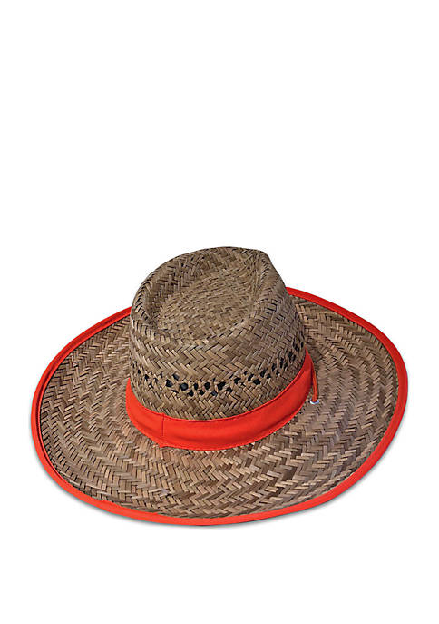 Brown Lifeguard Hat