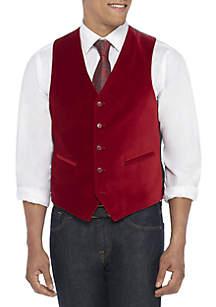 Red Velvet Vest