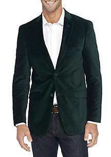 Big & Tall Velvet Sport Coat