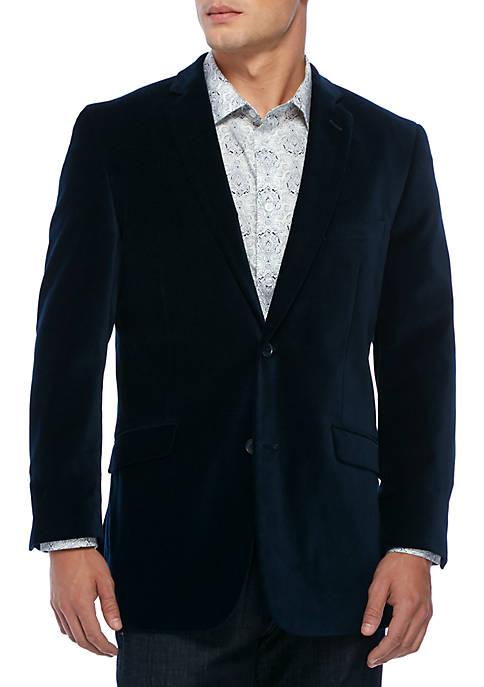 Madison Blue Velvet Sport Coat