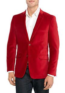 Madison Red Velvet Sport Coat